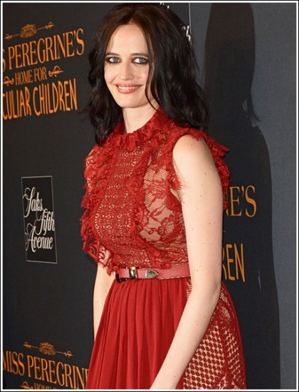 Eva Green Gets Red Hot And Ultra Busty