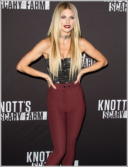 AnnaLynne McCord Done Up Like A Sexy Little Vampire Minx