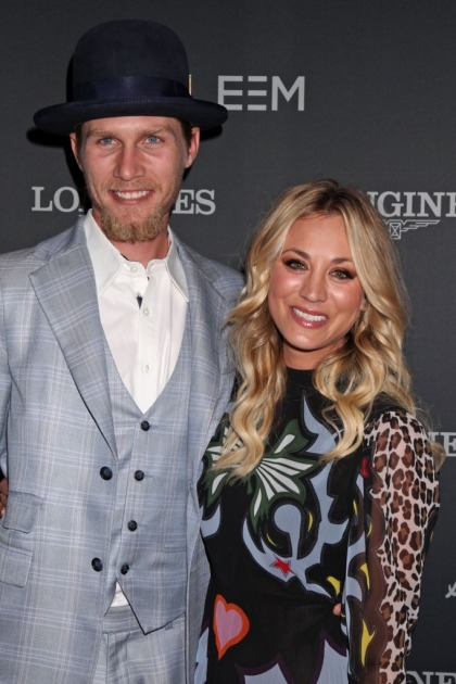 Kaley Cuoco makes her red carpet debut with beau Karl Cook