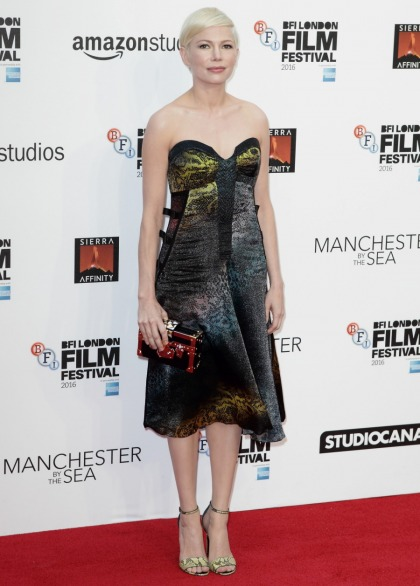 Michelle Williams in Louis Vuitton at BFI London premiere: cute or unflattering?