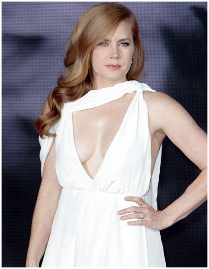 Amy Adams Drops Some Surprisingly Sexy/Plentiful/Braless Cleavage' WOW!
