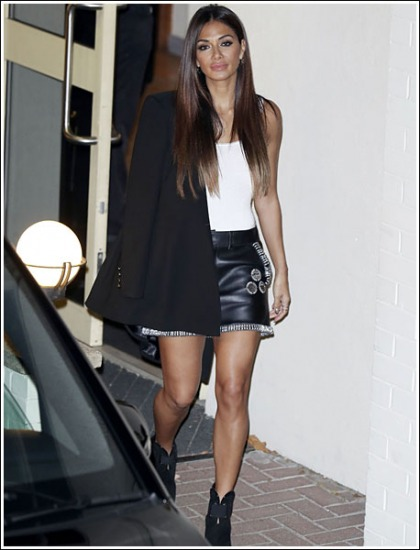 Nicole Scherzinger Shows Off Her Ultra Sexy And Fit Legs