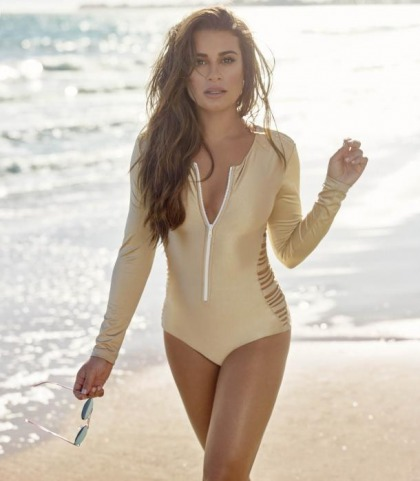 Lea Michele Does Shape Magazine