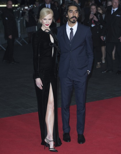 Nicole Kidman in Armani Prive at the UK 'Lion' premiere: amazing or meh'