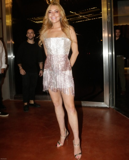 Lindsay Lohan opened a Club LOHAN in Greece which has a VVIP section