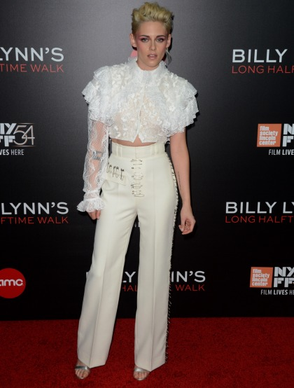 Are you feeling Kristen Stewart's Bowie-esque ruffled Rodarte look'