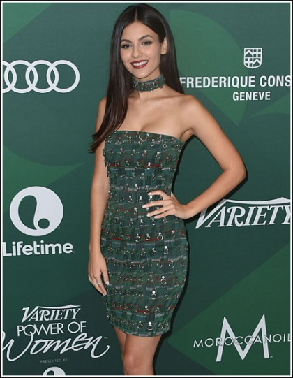 Victoria Justice Gets Ultra Sexy, And Leggy, And Cleavagy, Oh My!