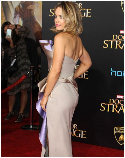Rachel McAdams Looking All Kinds Of Jaw-Dropping, And Drool-Inducing, And Bootylicious At The Doctor Strange Premiere' D
