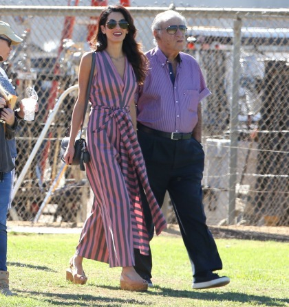 Amal Clooney wore a $1587 Tome jumpsuit in LA: fug, overpriced or hot?