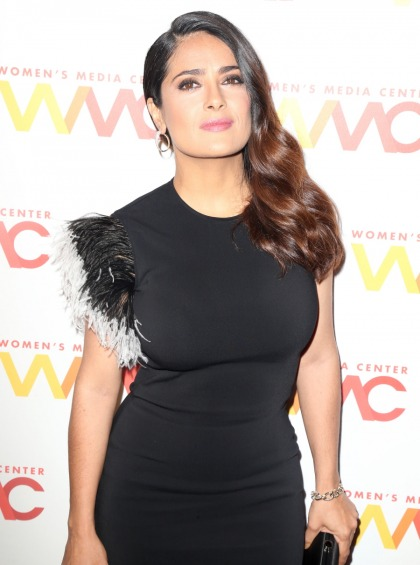 Salma Hayek: Donald Trump planted a story in the Enquirer when I spurned him