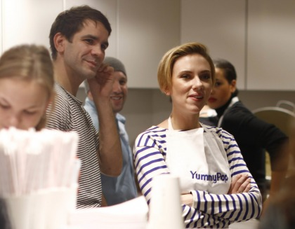 Scarlett Johansson's gourmet popcorn shop in Paris is a success, maybe