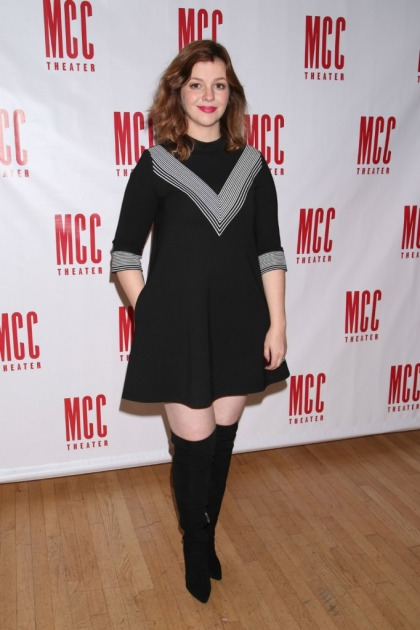 Amber Tamblyn, pregnant with a daughter, makes case to vote for Hillary