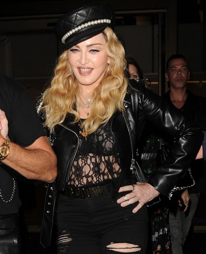 Real question: is Madonna overdoing the Botox, fillers & lip injections?