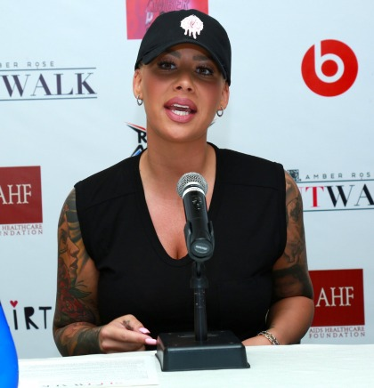 Amber Rose can't even count how often a 'famous guy touched me inappropriately'