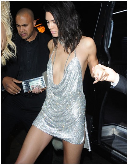 Kendall Jenner Gets Ultra Leggy, And Cleavagy, And Bootylicious For Her 21st Birthday Party' WOW!