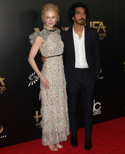Nicole Kidman in Giambattista Valli at the HFAs: twee or lovely?