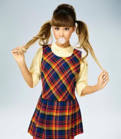 Ariana Grande Is A Schoolgirl