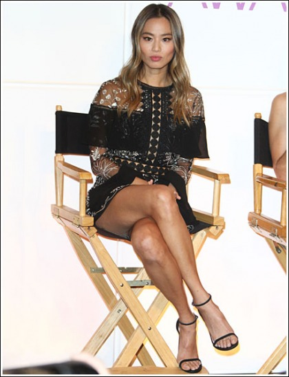 Jamie Chung Unleashes A Ton Of Her Insanely Sexy/Perfect Legs' WOW!