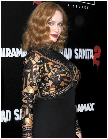 Christina Hendricks Unleashes Her Ginormous Super Bosom