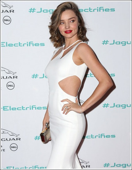 Miranda Kerr White Hot And Curvalicious
