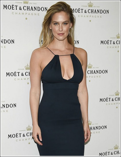 Bar Refaeli Returns With A Massive Braless Cleavage Show