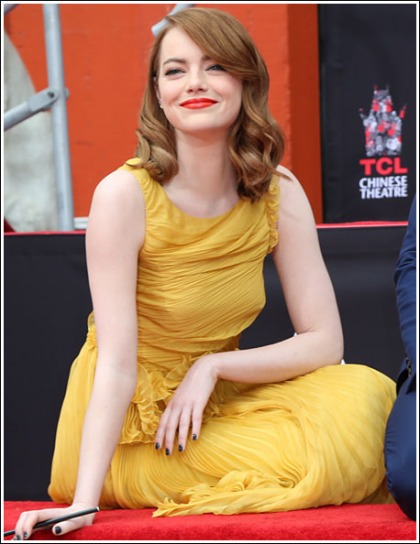 Emma Stone Gets Down And Dirty, And Adorably Hot And Perky, Oh My!
