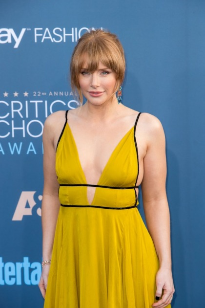 Bryce Dallas Howard in Topshop at Critics' Choice: cute or needs tailoring'