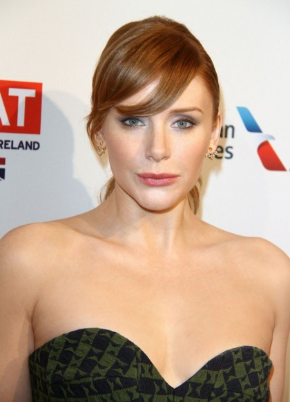 Bryce Dallas Howard in Victoria Beckham at the BAFTA tea party: striking or ill-fitting?