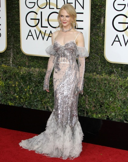 Nicole Kidman in McQueen: one of the worst looks of the Golden Globes?