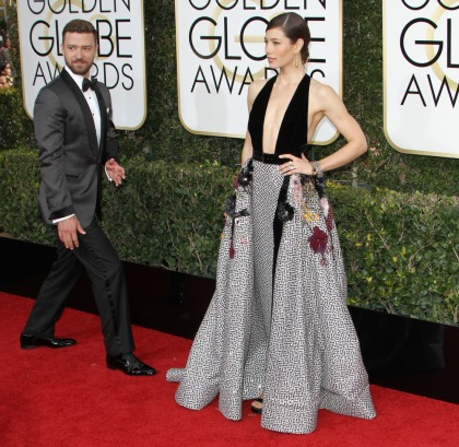Justin Timberlake's wife wore Elie Saab to the Golden Globes: pretty or meh'