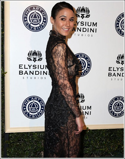Emmanuelle Chriqui Looking All Kinds Of Boobtastic, And Bootylicious, And Damn Hot' WOW!