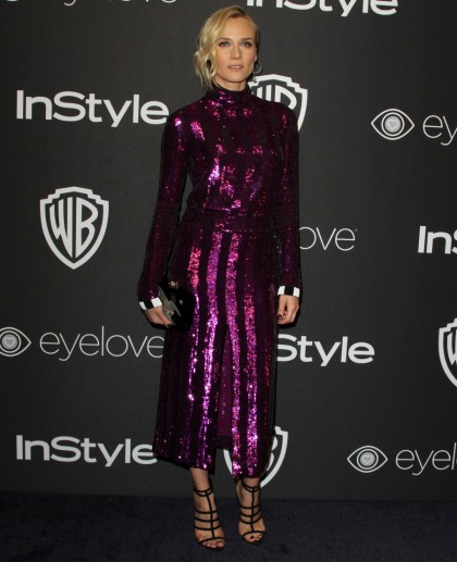Diane Kruger in Nina Ricci at the InStyle Globes party: cheap or flirty?
