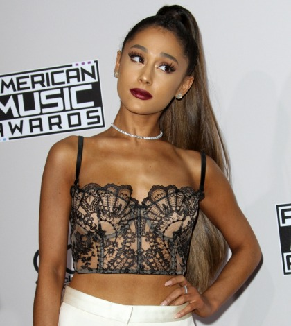 Ariana Grande thinks she's 'the hardest working 23 year old human being on earth'