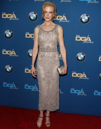 Nicole Kidman in beaded Marchesa at the DGA Awards: boring or beautiful?