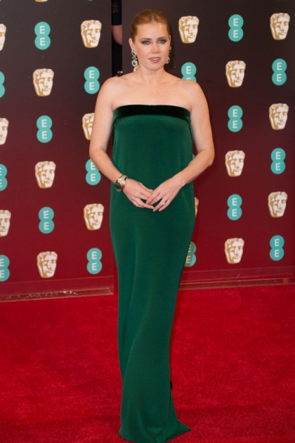 Amy Adams in Tom Ford at the BAFTAs: unique or fug?