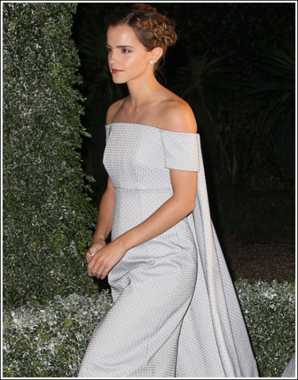 Emma Watson Puts On An Adorably Hot, And Perky, And Curvy Show, Oh My!