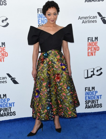 Ruth Negga in Delpozo at the Spirit Awards: gorgeous or poorly styled?