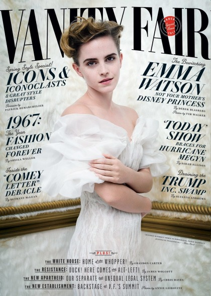 Emma Watson responds to accusations that her breasts are anti-feminist