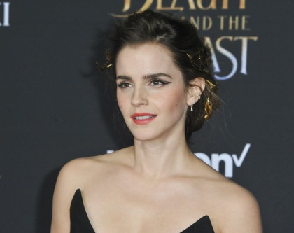 Emma Watson loves freckles, natural deodorant, baths & toenail polish