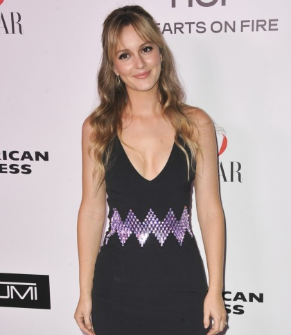 Leighton Meester isn't interested in Goop's V-steams, the V is 'self-cleaning'