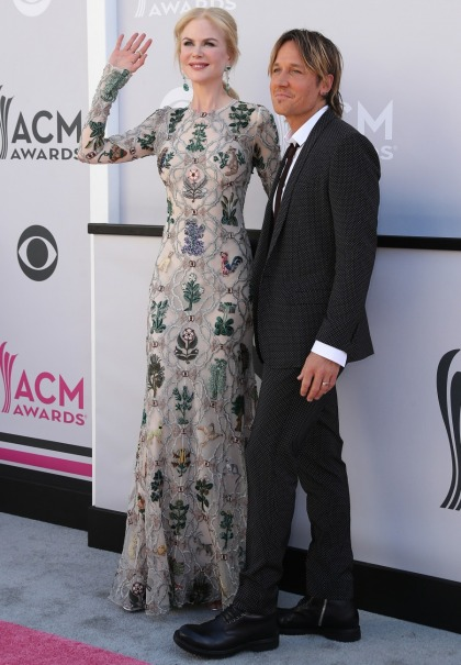 Nicole Kidman's woodland-creature McQueen at the ACMs: adorable or odd'