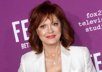 Susan Sarandon loves how people are 'energized & awake' in Trump's America