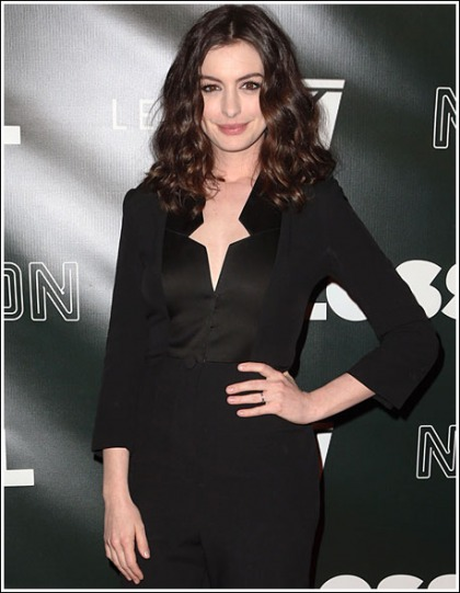 Anne Hathaway Busts Out Her Semi-Colossal Bosom