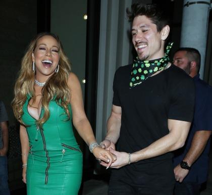 Mariah Carey broke up with her backup dancer boyfriend, Bryan Tanaka