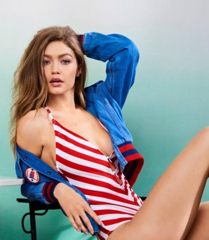 Gigi Hadid Works It In A Swimsuit!