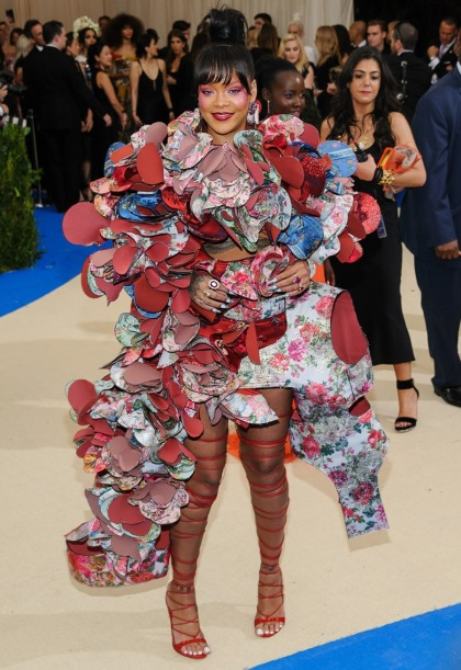 Rihanna in Commes des Garcons at the Met Gala: fabulous or crazy?