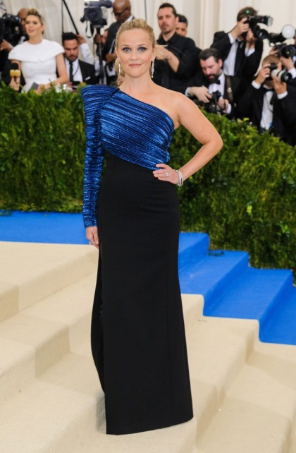 Reese Witherspoon in Thierry Mugler at the Met Gala: pretty or plain?
