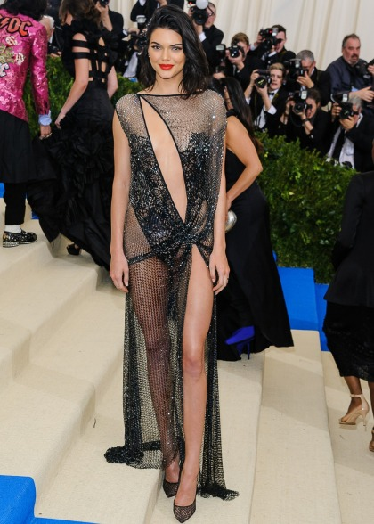 Kendall Jenner in La Perla couture at the Met Gala: sexy or bland?