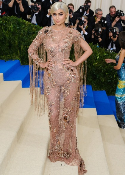 Kylie Jenner in Versace at the Met Gala: cheap, cute or just' sad doll'