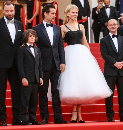 Nicole Kidman in Calvin Klein tulle explosion in Cannes: ugh or amazing?